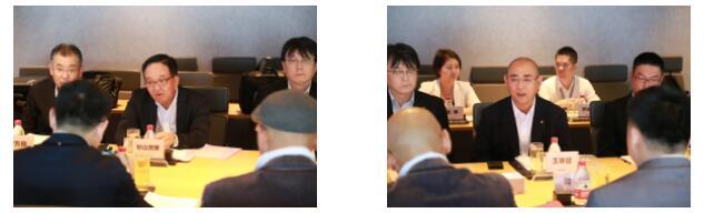 盐田区领导、海格物流共同接待日通东亚区总裁到访
